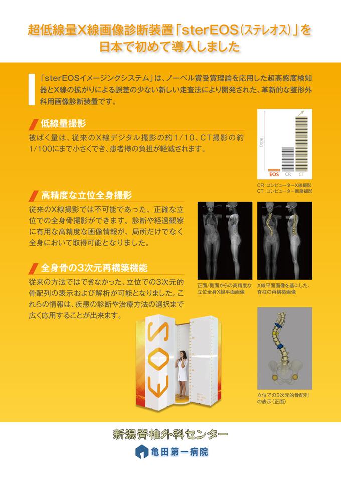 脊椎外科ポスター